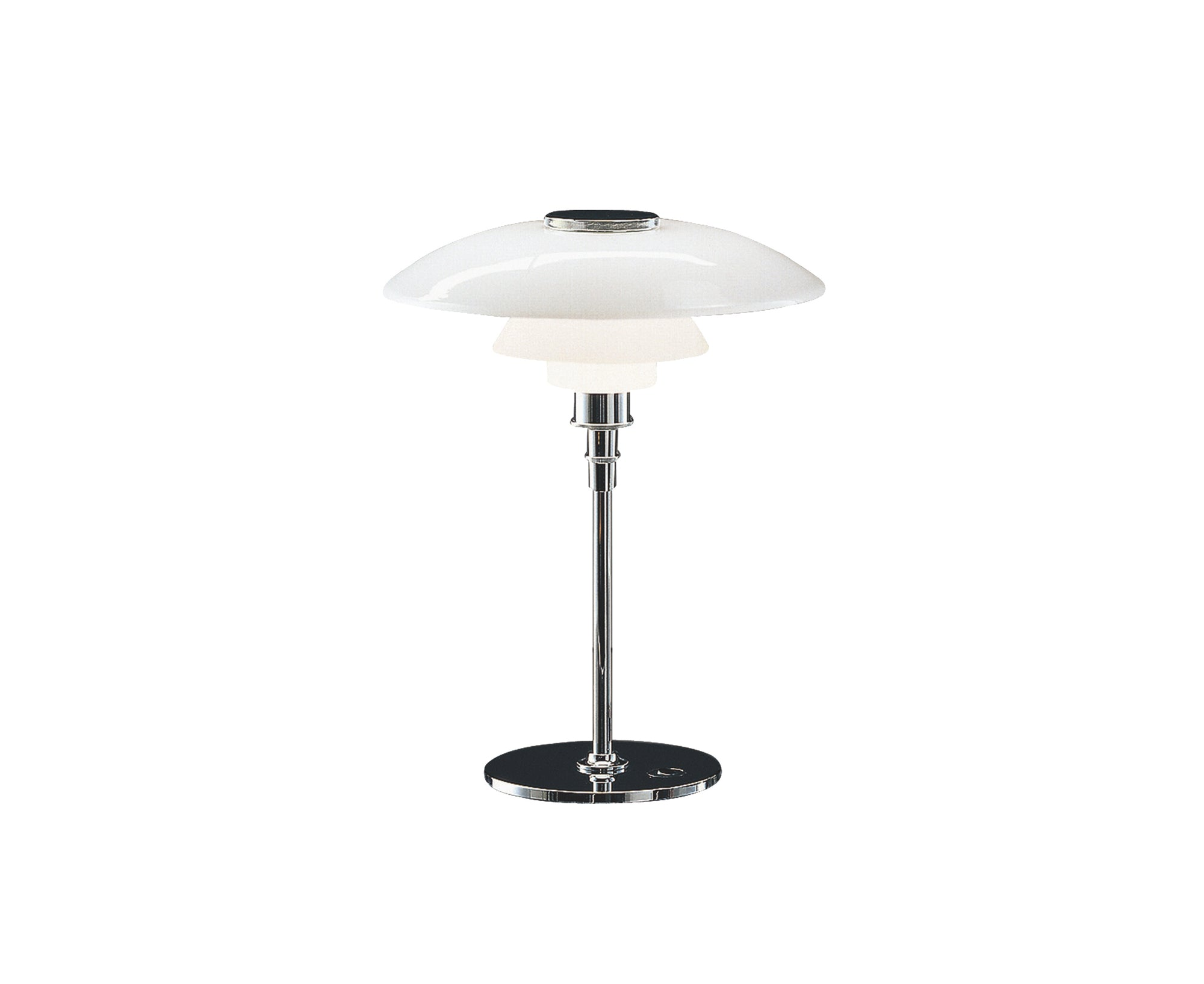 PH 4½-3½ Glass Table Lamp