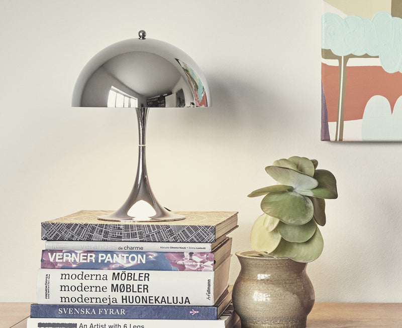 Louis Poulsen Chrome Table Lamp | DSHOP