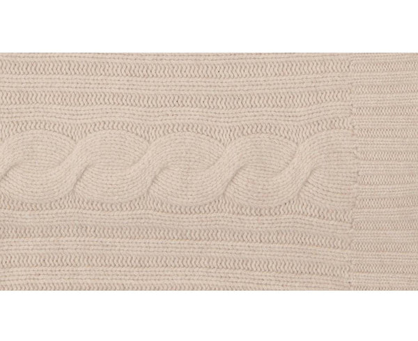 Tan Cashmere Throw | DSHOP