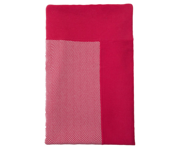 Henry Cotton Throw - Pink | DSHOP