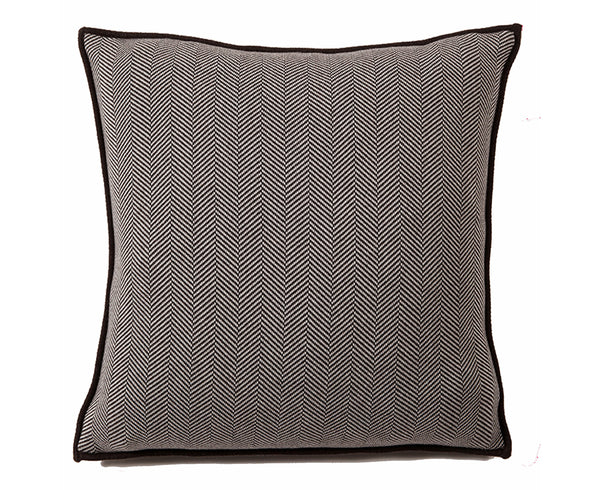 Henry Cotton Pillow - Chocolate Ivory | DSHOP