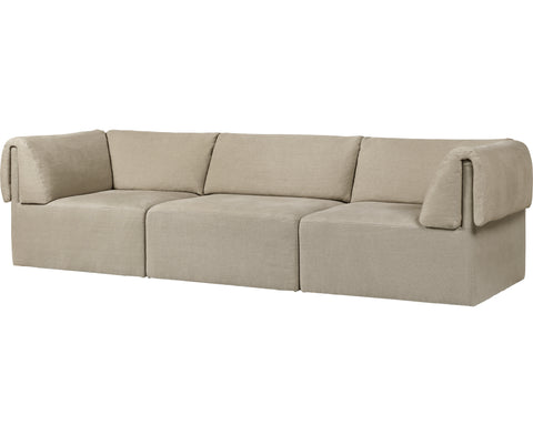 Wonder Sofa - 3-Seater With Armrest