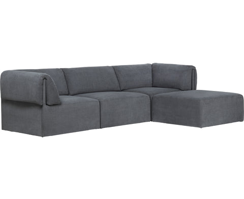 Wonder Sofa - 3-Seater With Chaise Longue