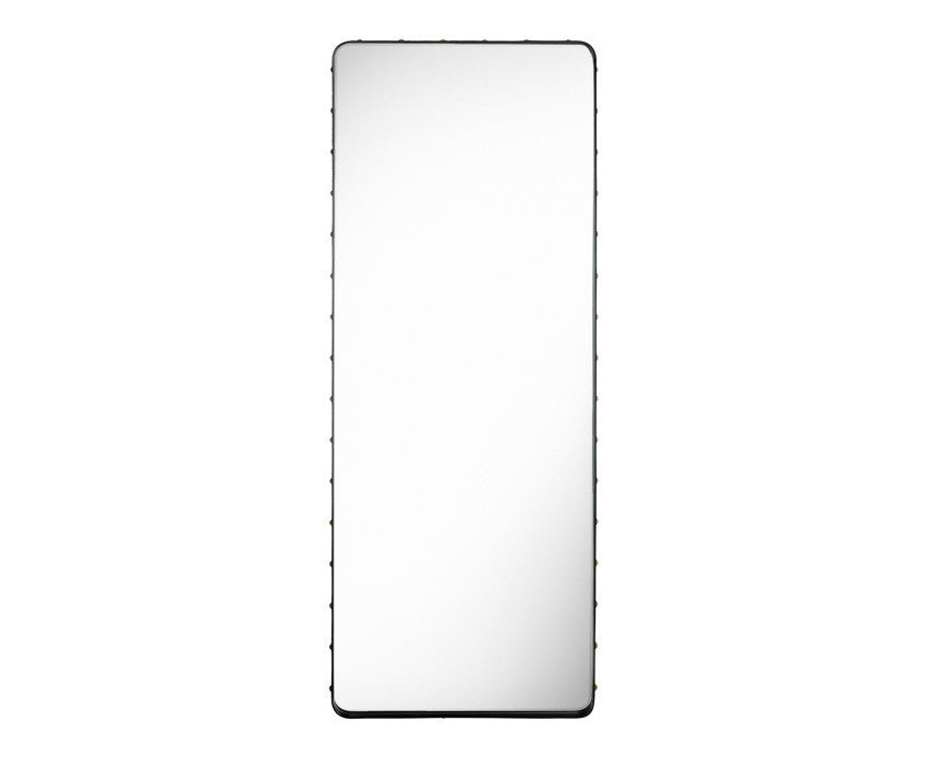 Gubi Adnet Rectangulaire Mirror - Black