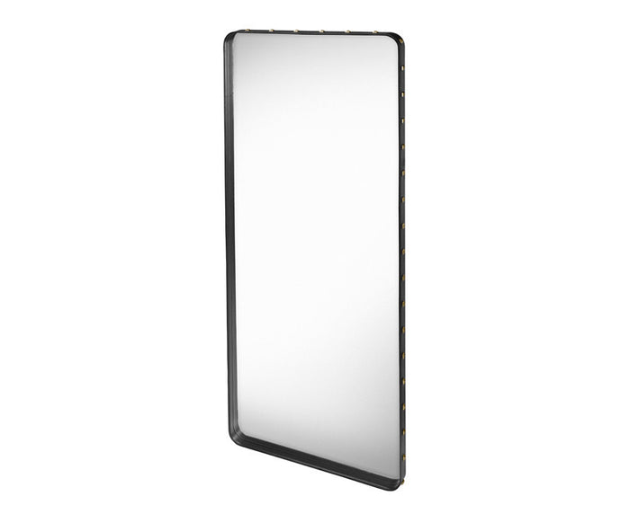 Adnet Rectangulaire Mirror - Black
