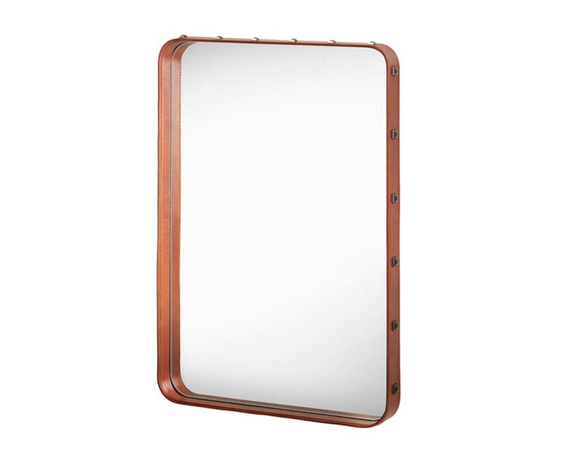 Gubi Adnet Rectangulaire Mirror - Tan