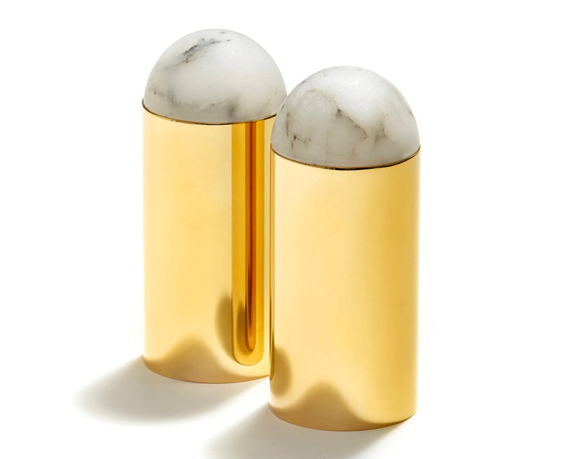 Amare Salt & Pepper Set in Gold | DSHOP