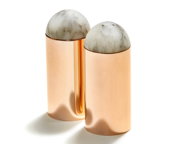 Amare Salt & Pepper Set in Rose Gold | DSHOP