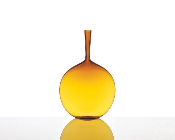 Cariati Angelic Flask - Amber Yellow