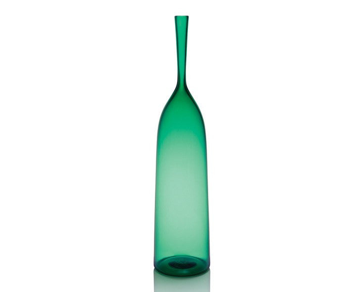Cariati Angelic Bottle - Large - Emerald Green