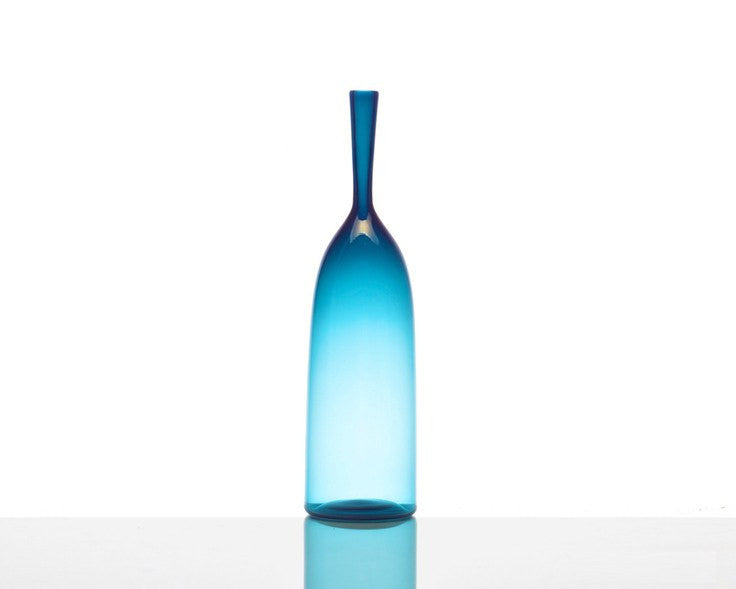 Cariati Angelic Bottle - Small - Steel Blue
