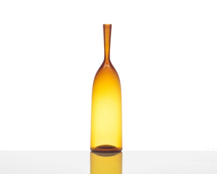 Cariati Angelic Bottle - Small - Amber Yellow