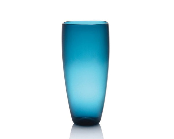 Cariati Angelic Vase - Steel Blue
