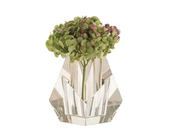 Faceted Crystal Vase | DSHOP