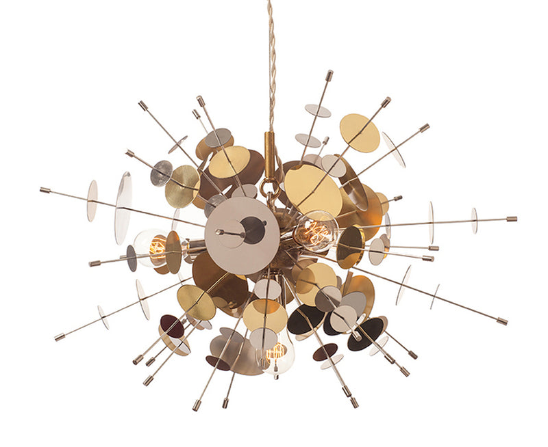 Confetti Pendant - Stainless Steel & Brass | DSHOP