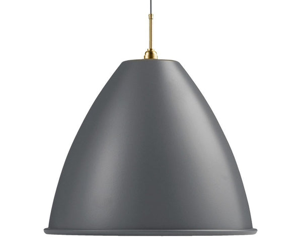 Bestlite BL9XL Pendant Lighting | Grey / Brass