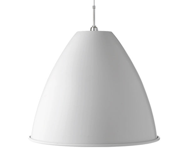 Bestlite BL9XL Pendant Lighting | Matte White / Chrome