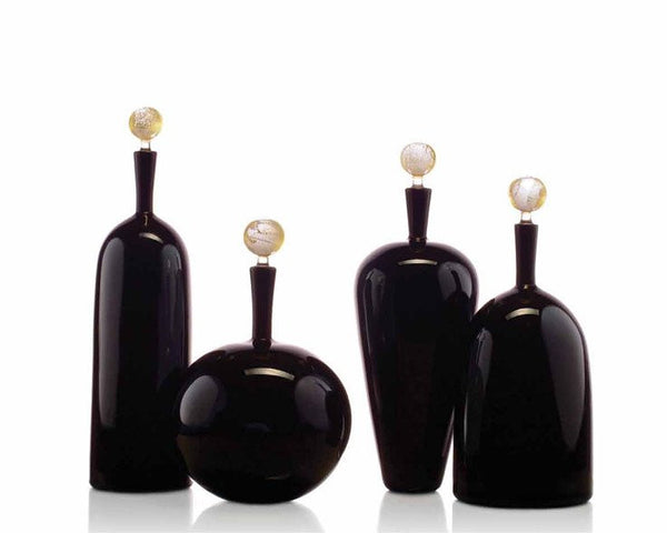 Cariati Carmella Barware - Tall Bottle - Black