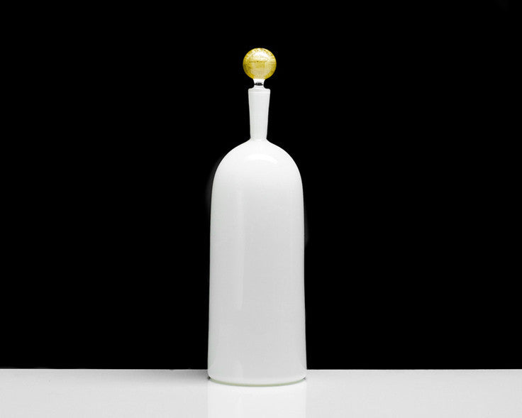 Cariati Carmella Barware - Tall Bottle - Ivory