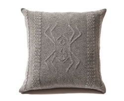 Cashmere Aranea Pillow - Gray