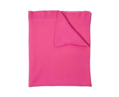 Cashmere Capri Throw - Fuchsia