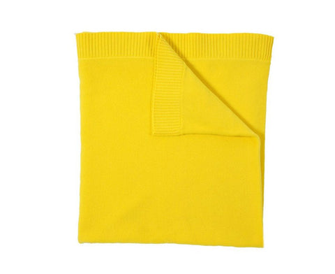 Cashmere Capri Throw - Yellow