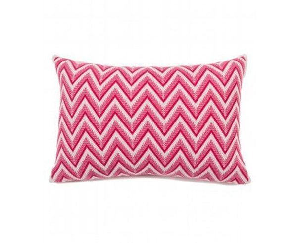 Dillon Cashmere Pillow - Fuchsia