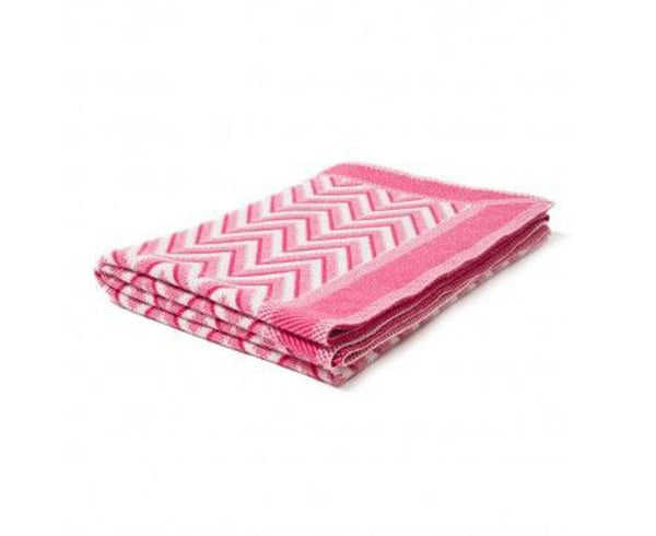 Cashmere Dillon Throw - Fuchsia