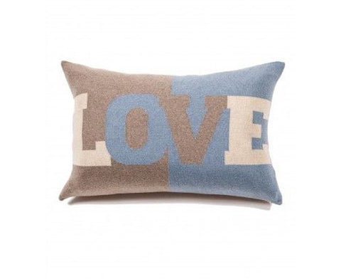 Cashmere Love Pillow - Azure