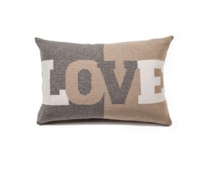 Cashmere Love Pillow - Taupe