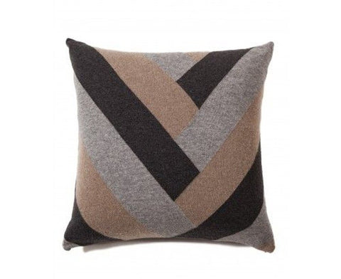 Cashmere V Pillow - Gray