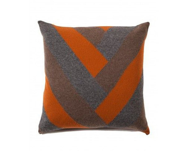 Cashmere V Pillow - Orange