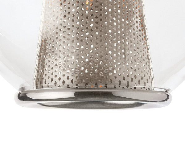 Caviar Fixed Large Cluster Chandelier - Nickel