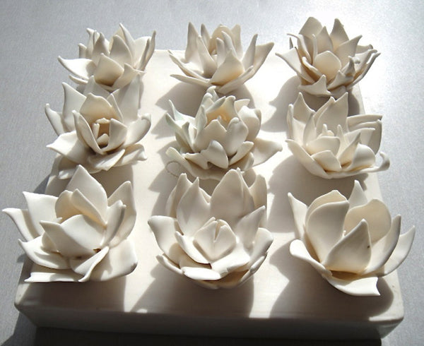 Porcelain Art Flowers