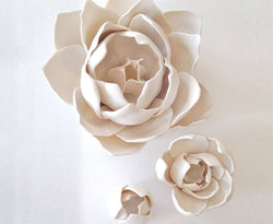 Porcelain Lotus Flowers