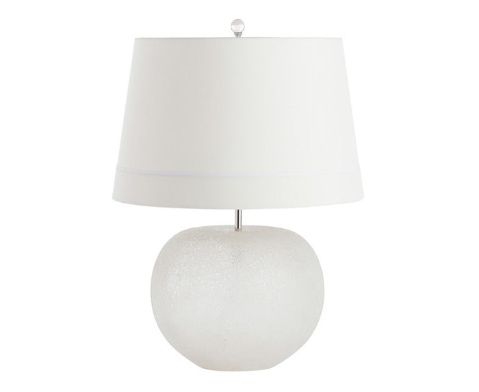 Clarissa White Table Lamp