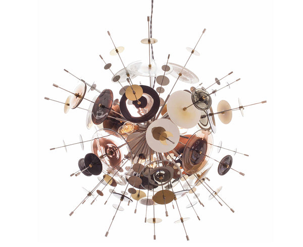 Confetti Glass Pendant Light - Black Coco | DSHOP