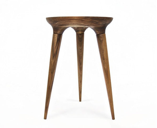 Dunn Coventry Stool in Walnut