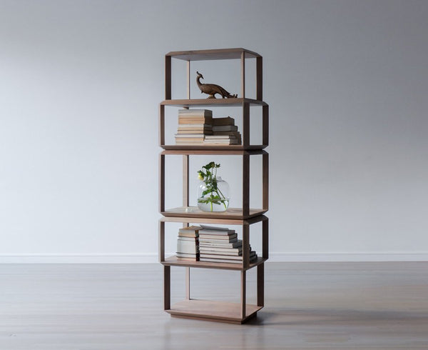 Drew Modular Bookcase - Walnut