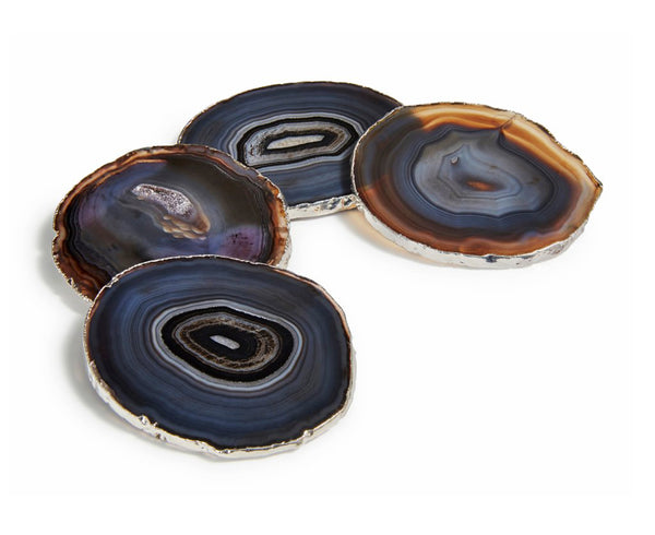 Lumino Coasters - Midnight / Silver | DSHOP