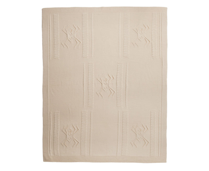Rani Arabella Aranea Cashmere Throw - Ivory