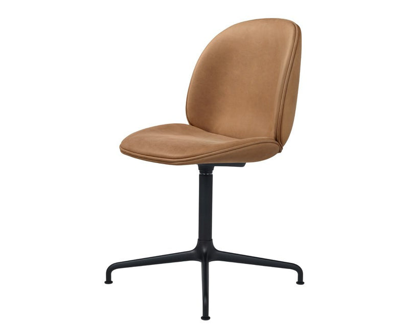 Gubi Upholstered Beetle Dining Chair - Casted Swivel Base | DSHOP