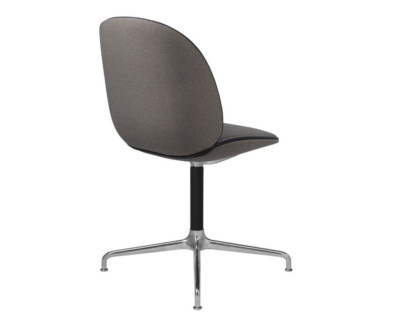 Upholstered Beetle Dining Chair - Casted Swivel Base by GamFratesi | DSHOP