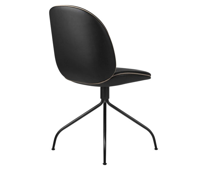 Upholstered Beetle Dining Chair - Swivel Base