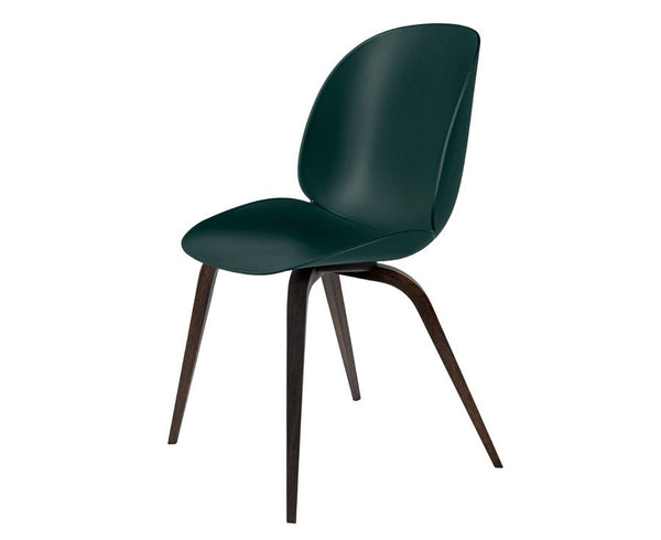 Beetle Dining Chair - Wood Legs & Polypropylene Seat
