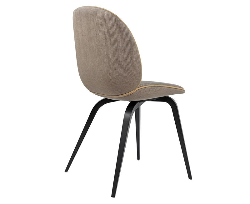 Upholstered Beetle Dining Chair - Wood Legs | DSHOP