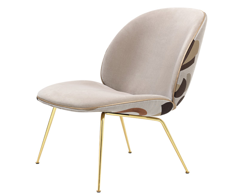 Upholstered Beetle Lounge Chair