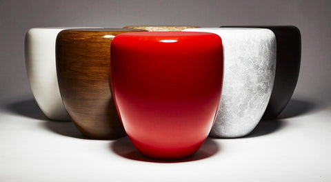 Dot Table Stool - Iconic Red