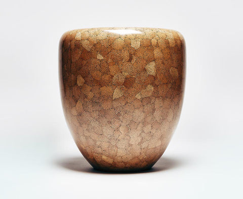 Dot Table Stool - Dark Brown Eggshell