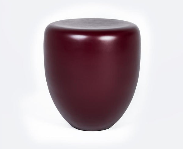 Dot Table Stool - Deep Garnet Matte | DSHOP
